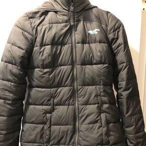 Hollister puffer jacket size s